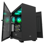 """New"" DarkFlash DLX22 Black ATX Gaming Case-DLX22 Black-by DarkFlash"
