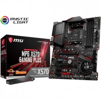 MSI MPG X570 GAMING PLUS ATX Motherboard - Socket AM4