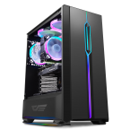 DarkFlash T20 Black ATX Gaming Case-T20 Black-by DarkFlash