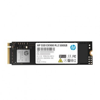HP EX900 M.2 500 GB NVMe 3D TLC NAND Internal Solid State Drive (SSD) Retail