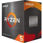 AMD Ryzen 5 5600X 4th Gen 6-core, 12-threads Unlocked Desktop Processor -100-100000065CBX-by AMD