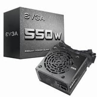 EVGA 550 W1, 550W 80+ Certified Power Supply
