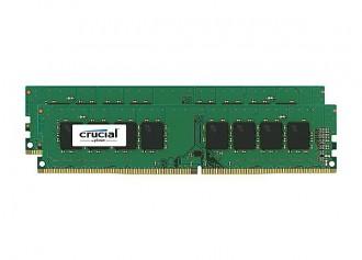 Crucial 16GB Kit (2x8GB) DDR4, 2133Mhz, 288-pin RAM