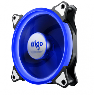 DarkFlash Aigo Halo Blue LED Case Fan 120mm