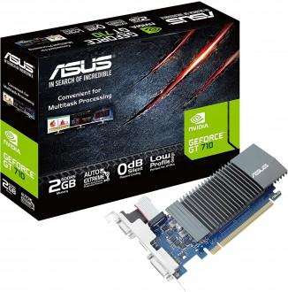 Asus GeForce GT 710 2GB GDDR5 Low-Profile Video Card
