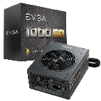 EVGA 1000 GQ, 80+ GOLD 1000W, Semi Modular Power Supply-210-GQ-1000-V1-by Thermaltake