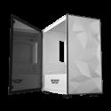 DarkFlash DLM21 White Micro-ATX Gaming Case- DLM21 White-by DarkFlash