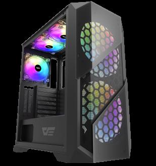 DarkFlash BF5 Black ATX Gaming Case