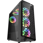 DarkFlash Water Square 5 Black ATX Gaming Case-Water Square 5-by DarkFlash