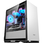 DarkFlash DLM22 White Micro-ATX Gaming Case-DLM22 White-by DarkFlash