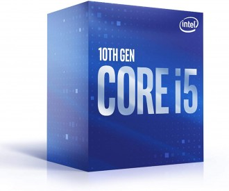 Intel Core i5-10400 Comet Lake 6-Core 2.9 GHz (4.3 GHz Turbo) LGA 1200