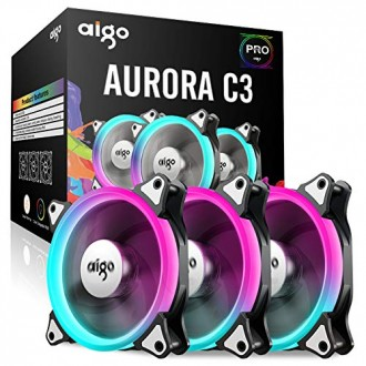 DarkFlash Aigo Aurora C3 3-In-1 120mm w/ Controller