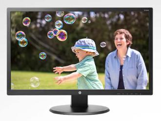 """HP 24"""" 24uh 1080P Monitor"""