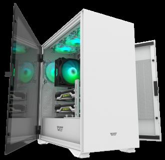 """New"" DarkFlash DLX22 White ATX Gaming Case"