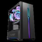 DarkFlash T20 Black ATX Gaming Case-T20 Black-by DarkFlash