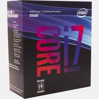 Intel Core i7-8700K Coffee Lake 6-Core 3.7 GHz (4.7 GHz Turbo) LGA 1151 Retail Pack BX80684I78700K