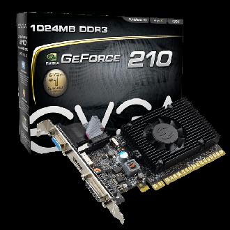 EVGA GeForce 210 1GB DDR3, Low Profile