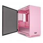 DarkFlash DLM22 Pink Micro-ATX Gaming Case-DLM22 Pink-by DarkFlash