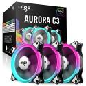 DarkFlash Aigo Aurora C3 3-In-1 120mm w/ Controller -Aurora C3 3-In-1-by DarkFlash