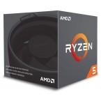 AMD Ryzen 5 2600 3.7 GHz Six-Core AM4 Processor  - YD2600BBAFBOX-YD2600BBAFBOX-by AMD