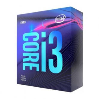 Intel Core i3-9100 Coffee Lake 4-Core 3.6 GHz (4.2Hz Turbo) LGA 1151 Retail Pack BX80684I39100